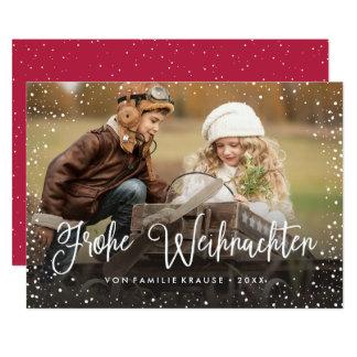 Frohe Weihnachten   Weihnachtskarte Karte