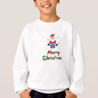 Frohe Weihnachten Weihnachtsmann Sweatshirt