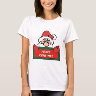 Frohe Weihnachten Weihnachtsmann T-Shirt