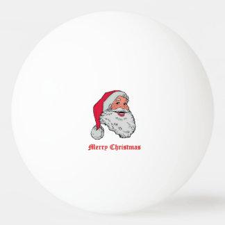 Frohe Weihnachten Weihnachtsmanns Tischtennis Ball