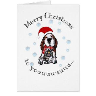 Frohe Weihnachten zum youuuuu Karte