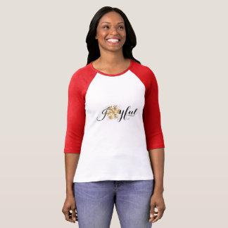 Frohe Weihnachtsschneeflocke T-Shirt