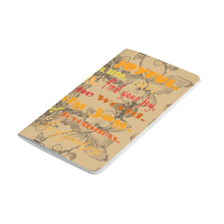 frohe Wörter Taschennotizbuch