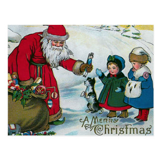 """""""Frohen Weihnachten"""" Vintag Postkarte"""