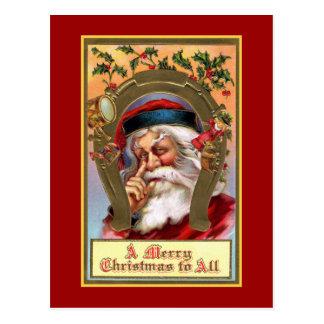 """""""Frohen Weihnachten zu ganz"""" Vintagem Postkarte"""