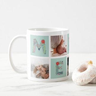 Fröhliche Art | Feiertags-Foto-Collagen-Tasse Kaffeetasse