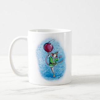 Fröhliche Chris-Maus! Kaffeetasse