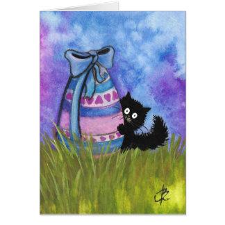 Fröhliche Ostern durch BiHrLe schwarze Karte
