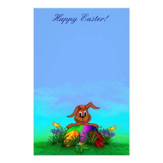 Fröhliche Ostern! Ostern-Kaninchen Bedrucktes Büropapier