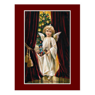 """""""Frohliche Weihnachten"""" Vintages Weihnachten Postkarte"""