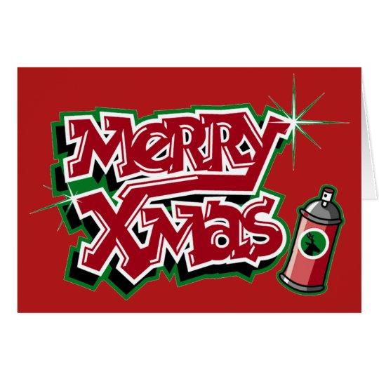 Fröhliche Weihnachtskarte Karte