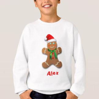 Fröhlicher Lebkuchen-Mann Sweatshirt