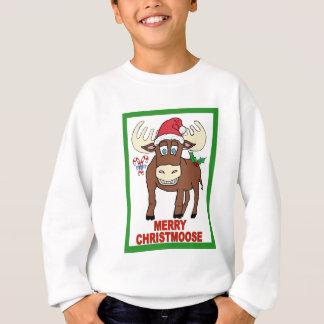 Fröhliches Christmoose Sweatshirt