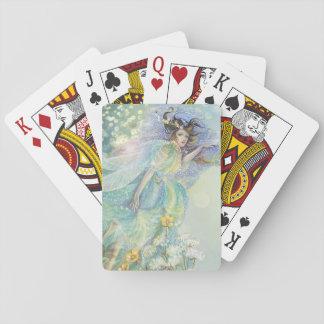 Fröhliches Fairylights Spielkarten