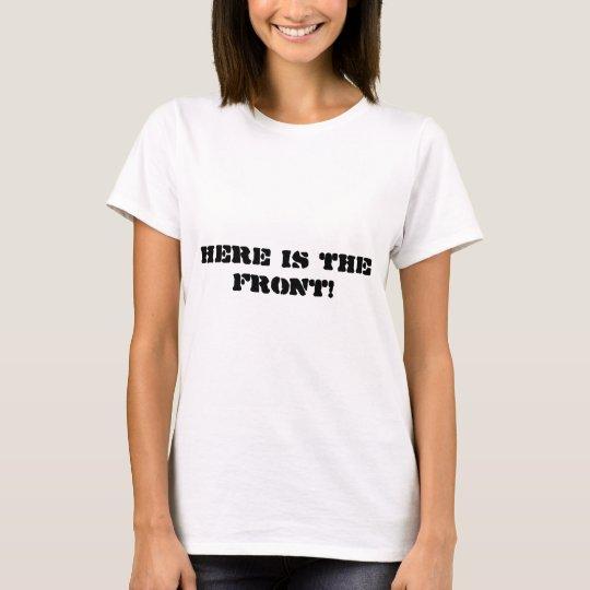 Front/hinteres T-Shirt