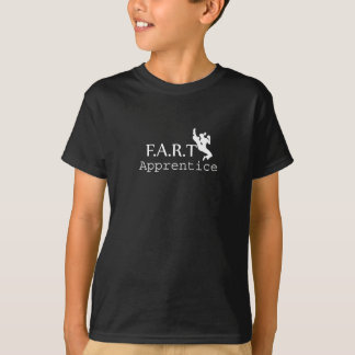 FRONT: Lehrling: weiß. RÜCKSEITE: freier Raum T-Shirt