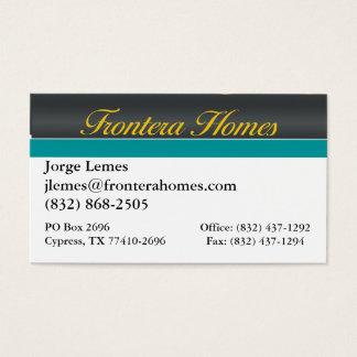Frontera-Häuser Visitenkarte