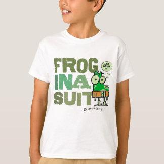 Frosch in einem Anzug scherzt T - Shirt