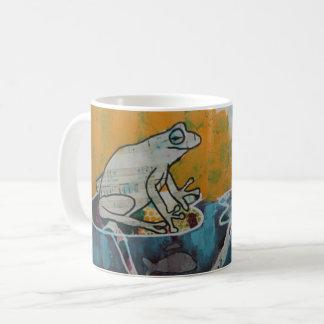 Frosch-Musik-Tasse Kaffeetasse