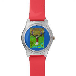 Frosch-Prinzessin Uhr