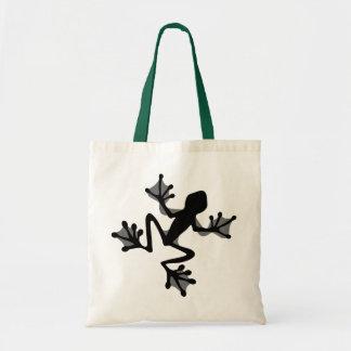 Frosch-Silhouette-Tasche Tragetasche