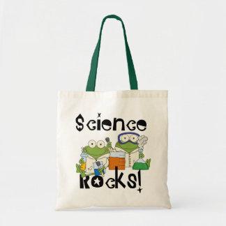 Frosch-Wissenschafts-Felsen Tragetasche