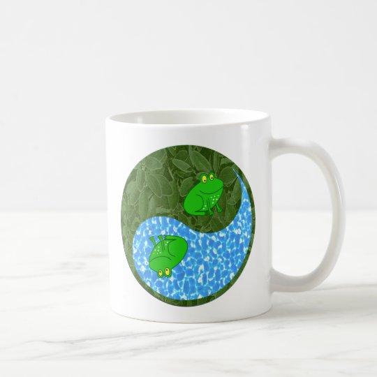 Frosch Yin Yang Kaffeetasse