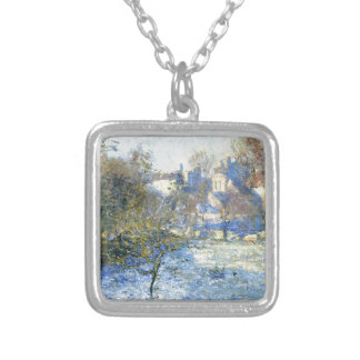 Frost durch Claude Monet Versilberte Kette
