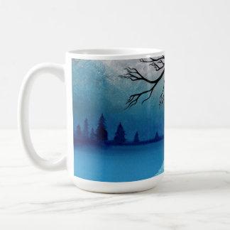 Frost gebissen kaffeetasse