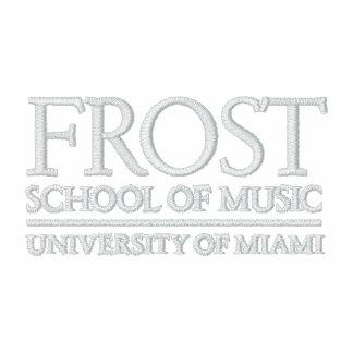 Frost-Musikschule-Logo Besticktes Kapuzenpulli