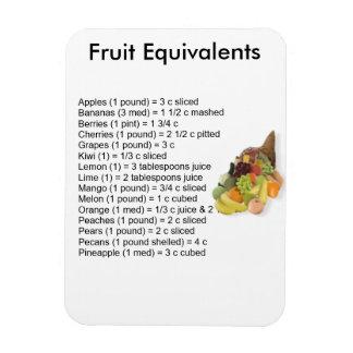 Frucht-Äquivalent-Magnet Magnet