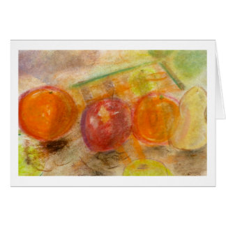 Frucht Brad Hines in PastellNotecards Karte