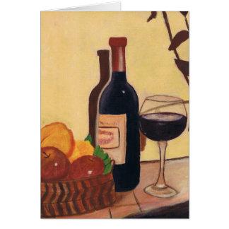 Frucht mit Wein Karte