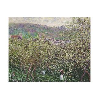 Frucht-Pflücker Claude Monets |, 1879 Leinwanddruck