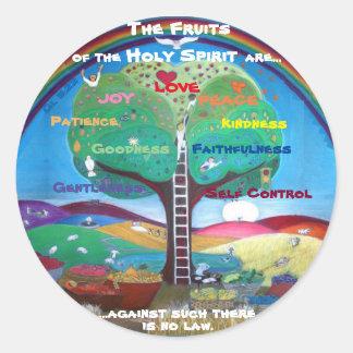 Früchte der Heiliger Geist Aufkleber