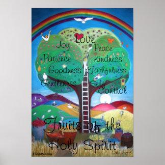 Früchte des Heiliger Geist Plakats Poster