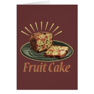 Fruchtkuchen-Frucht-Kuchen Karte