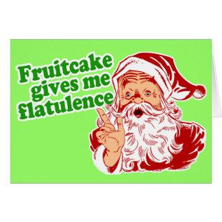 Fruchtkuchen macht Sankt-Furz Karte