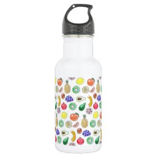 Fruchtmuster Edelstahlflasche