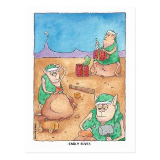 Frühe Elf-Postkarte Postkarte