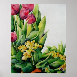 Frühjahr-Erinnerungens-Plakat Poster