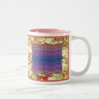 Frühjahr-Hochzeits-Tassen Zweifarbige Tasse