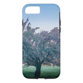 Frühjahr-Sonnenaufgang, geblühter Baum an der iPhone 8/7 Hülle