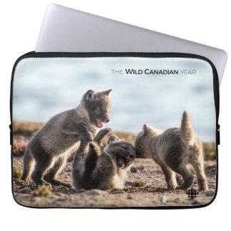 Frühling - arktischer Fox Laptopschutzhülle