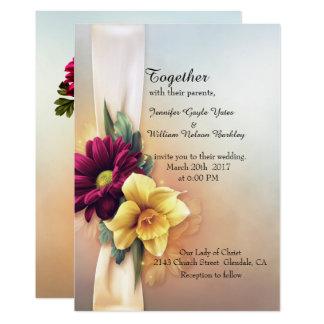 Frühling blüht Hochzeits-Einladung 12,7 X 17,8 Cm Einladungskarte