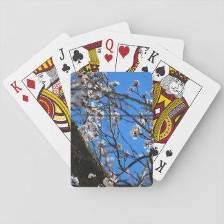 Frühling in der Blüte Spielkarten