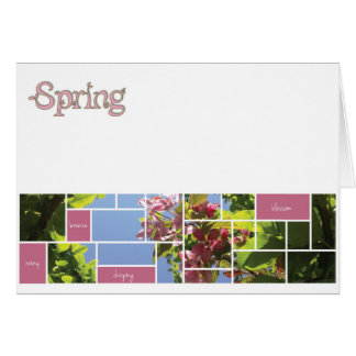 Frühling Karte