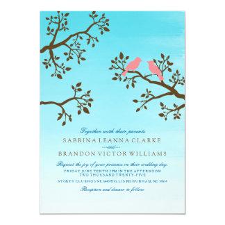 Frühling verzweigt sich Hochzeits-Einladung 12,7 X 17,8 Cm Einladungskarte