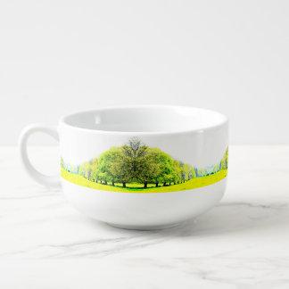 Frühlings-Baum-Suppen-Tasse/Müslischüssel Große Suppentasse
