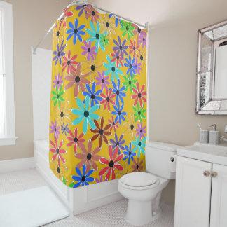 Frühlings-Blumen Duschvorhang